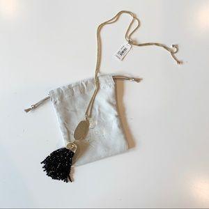 Kendra Scott Jewelry - Kendra Scott Black Pendant Necklace Monroe